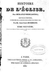 Histoire de l'Eglise: Volume9