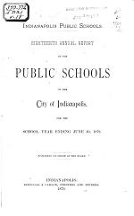 Annual Report of the Secretary, Business Director, Superintendent of Schools, and the Librarian