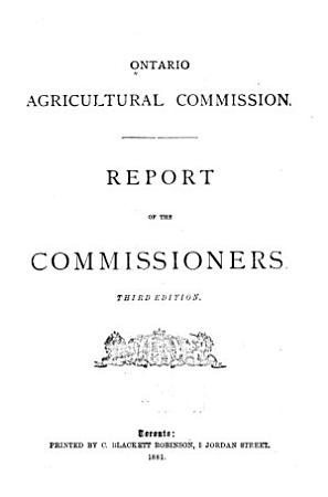 Report of the Commissioners  and Appendices A to S  PDF