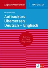 Aufbaukurs   bersetzen Deutsch Englisch PDF
