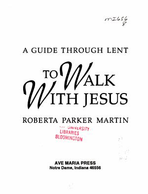 To Walk with Jesus