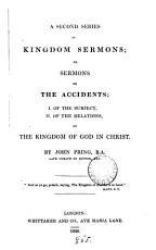 A second series of Kingdom sermons
