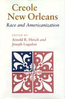 Creole New Orleans PDF