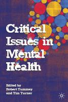 Critical Issues in Mental Health PDF