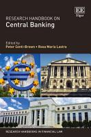 Research Handbook on Central Banking PDF