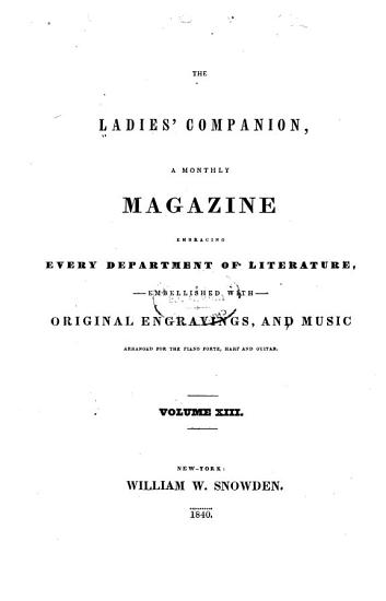 The Ladies  Companion PDF