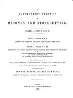 A Rudimentary Treatise on Masonry and Stonecutting PDF