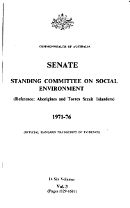Reference  Aborigines and Torres Strait Islanders  1971 76 PDF
