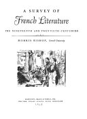 Download A Survey of French Literature Book