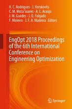 EngOpt 2018 Proceedings of the 6th International Conference on Engineering Optimization PDF