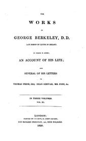 The works of George Berkeley: Volume 3