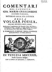 L'Istoria della Volgar Poesia: Volume 2