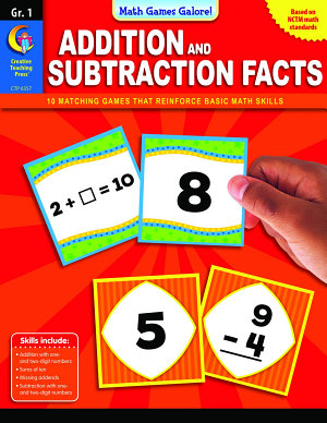 Math Games Galore  Addition and Subtraction Facts  Gr  1  eBook PDF