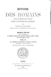 Histoire des Romaines: depuis les temps les plus reculés jusqu'à l'invasion des barbères
