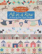 Moda All-Stars - All in a Row: 24 Row-by-Row Quilt Designs