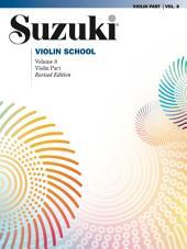 Suzuki Violin School - Volume 8 (Revised): Violin Part