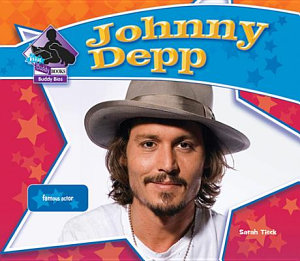 Johnny Depp Famous Actor Book