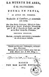 La Muerte de Abel, ó, El fratricidio: poema en prosa
