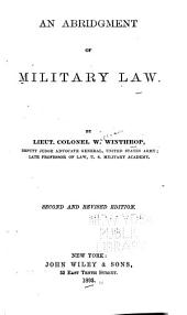 An Abridgment of Military Law