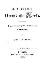 Sämmtliche Werke: Spaziergang nach Syrakus im Jahre 1802 ; Theil. 2. Anmerkungen zum Spaziergang nach Syrakus / von H. V. Schnarr v. K.
