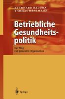 Betriebliche Gesundheitspolitik PDF