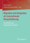 Migration und Integration als transnationale Herausforderung PDF