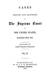United States Reports: Cases Adjudged in the Supreme Court, Volume 71