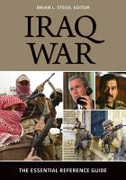 Iraq War  The Essential Reference Guide PDF