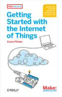 Getting Started with the Internet of Things PDF