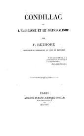 Condillac; ou, L'empirisme et le rationalisme