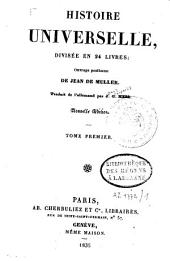 Histoire universelle: ouvrage posthume, Volume1