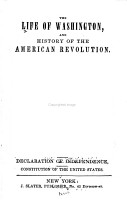 The Life of Washington and History of the American Revolution PDF