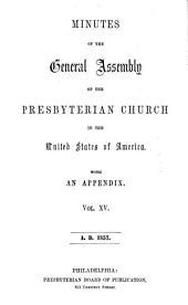 Minutes - United Presbyterian Church in the U.S.A.: Volume 15