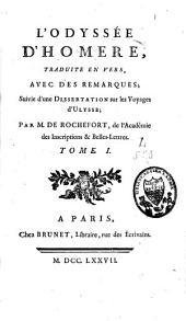 L'Odyssée: Volume1