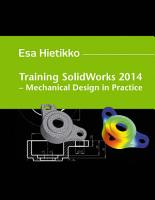 Training SolidWorks 2014 PDF