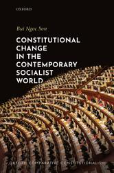 Constitutional Change in the Contemporary Socialist World PDF