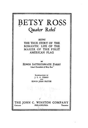 Betsy Ross  Quaker Rebel PDF