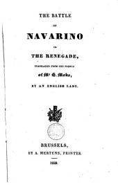 The Battle of Navarino: Or the Renegade