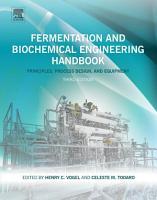 Fermentation and Biochemical Engineering Handbook PDF