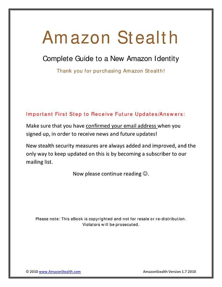 Amazon Stealth Skye