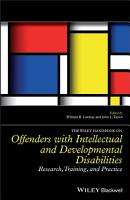 The Wiley Handbook on Offenders with Intellectual and Developmental Disabilities PDF