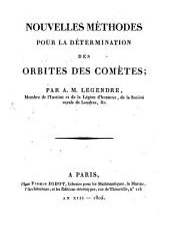 Nouvelles méthodes pour la determination des orbites des comètes