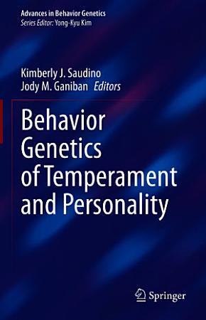 Behavior Genetics of Temperament and Personality PDF