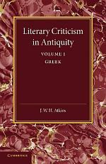 Literary Criticism in Antiquity