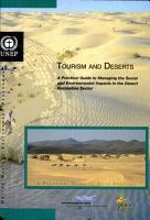 Tourism and Deserts PDF