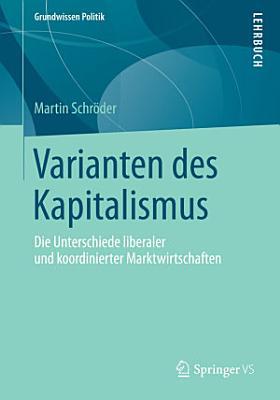 Varianten des Kapitalismus PDF