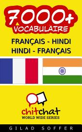 7000+ Français - Hindi Hindi - Français Vocabulaire