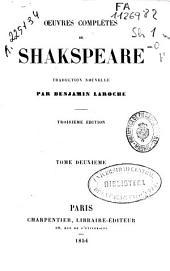 Oeuvres complètes de Shakspeare [sic]: Volume2