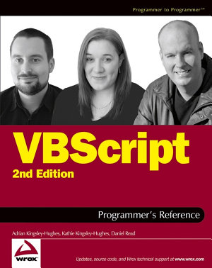 VBScript Programmer s Reference PDF