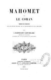 Mahomet et le Coran précédé d'une introduction sur les devoirs mutuels de la philosophie et de la religion par J. Barthélemy Saint-Hilaire